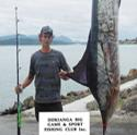 Reubyn Turnbull from Hawke Bay had not tried for a Marlin until this day when he boated this nice 119kg Stripy off Phat Bastard. You just have to be in the right place at the right time. Congratulations Reubyn.
